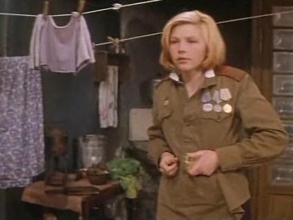Кадр из фильма «А у нас была тишина»