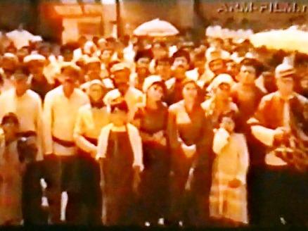 Кадр из фильма «Автомобиль на крыше»