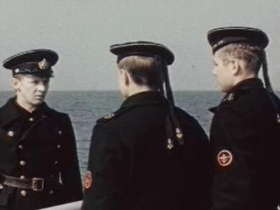 Кадр из фильма «Юнга Северного флота»