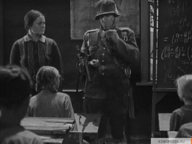 Кадр из фильма «Юные партизаны»