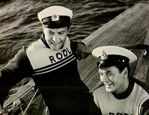 Кадр из фильма «Яхты в море»