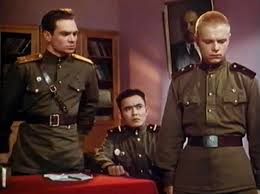 Кадр из фильма «Солдат Иван Бровкин»