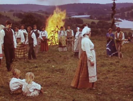 Кадр из фильма «Эгле»