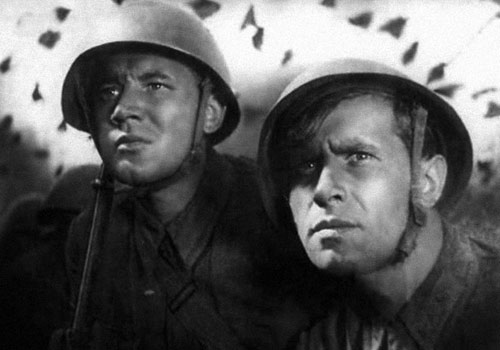Кадр из фильма «Два бойца»