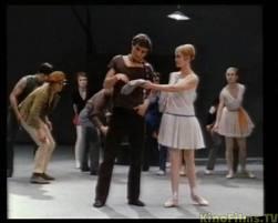 Кадр из фильма «Барышня и хулиган»