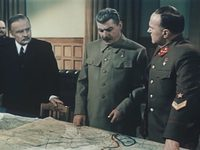 Кадр из фильма «Падение Берлина»