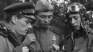 Кадр из фильма «Хроника пикирующего бомбардировщика»